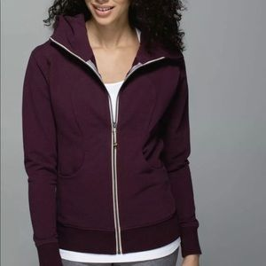 Lululemon On The Daily Hoodie Bordeaux 12